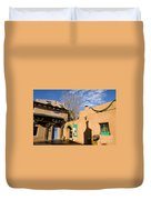 Shops At Santa Fe New Mexico Duvet Cover