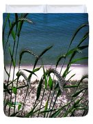 Shore Grass View Duvet Cover