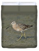 Short-billed Dowitcher Duvet Cover