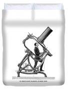 Short-focus Telescope, 1881 Duvet Cover