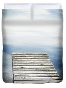 Short Pier Duvet Cover