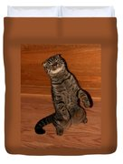 Shorthair Scottish Fold Cat Duvet Cover