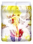 Show Girl Hibiscus Duvet Cover