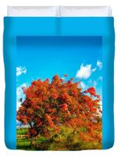 Shower Tree 18 Duvet Cover