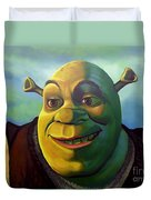 Shrek Duvet Cover by Paul Meijering