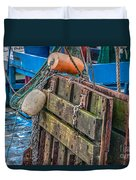 Shrimpboat Tools Of The Trade Duvet Cover