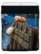 Shrimping Tools Duvet Cover