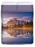 Shuksan Sunrise Duvet Cover