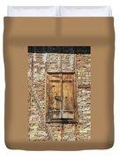 Shuttered Window Duvet Cover