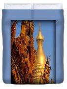 Shwe Dagon Pagoda Duvet Cover