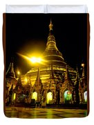 Shwedagon Paya - Yangoon Duvet Cover