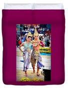 Siam Culture Dance Duvet Cover