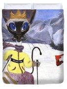 Siamese Queen Of Switzerland Duvet Cover