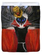Siamese Queen Of Transylvania Duvet Cover by Jamie Frier