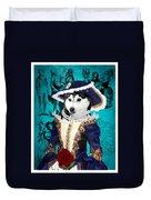 Siberian Husky Art Canvas Print - Baroness Duvet Cover