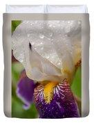 Siberian Iris I Duvet Cover