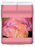 Side By Side They Fall Duvet Cover