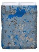 Sidewalk Abstract-17 Duvet Cover