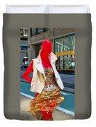 Sidewalk Catwalk 4 A Duvet Cover
