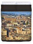 Siena Rooftops Duvet Cover