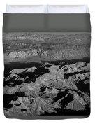 Sierra Nevada Shadows Duvet Cover