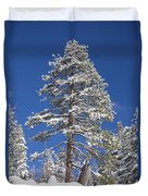 Sierra Snow Duvet Cover