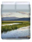 Sierra Valley Wetlands Duvet Cover