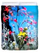 Sierra Wild Flowers II Duvet Cover