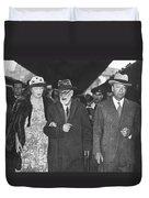 Sigmund Freud Exiled Duvet Cover
