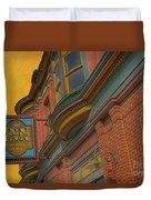 Sign - Frederick Inn Steakhouse And Lounge Duvet Cover