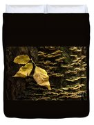 Signs Of Autumn Duvet Cover