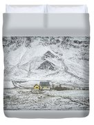 Signs Of Existence Duvet Cover