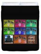 Signs Of Jim Beam Duvet Cover
