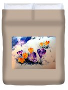 Signs Of Spring Duvet Cover