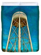Sikeston Water Tower Iv Duvet Cover