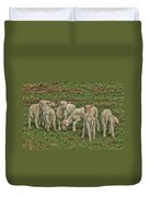Silence Of The Lambs Duvet Cover