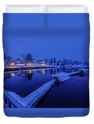 Silence Of The Morning Duvet Cover