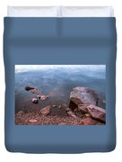 Silent Waters. Ladoga Lake Duvet Cover