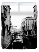 Silenzio Venice Italy Duvet Cover