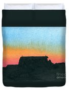 Silhouette Farmstead Duvet Cover