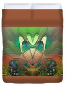 Silk Fan - Abstract  Duvet Cover