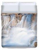Silky Waterfall Splash Duvet Cover