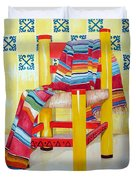 Silla De La Cocina--kitchen Chair Duvet Cover