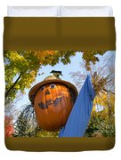 Silly Scarecrow Duvet Cover