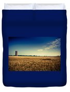 Silo In Wheat Duvet Cover