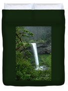 Silver Falls 1 In Oregon Duvet Cover