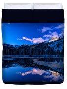 Silver Lake Duvet Cover