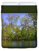 Silver River Florida Duvet Cover