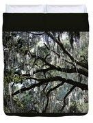 Silver Savannah Tree Duvet Cover