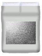 Silver Speckles  Duvet Cover